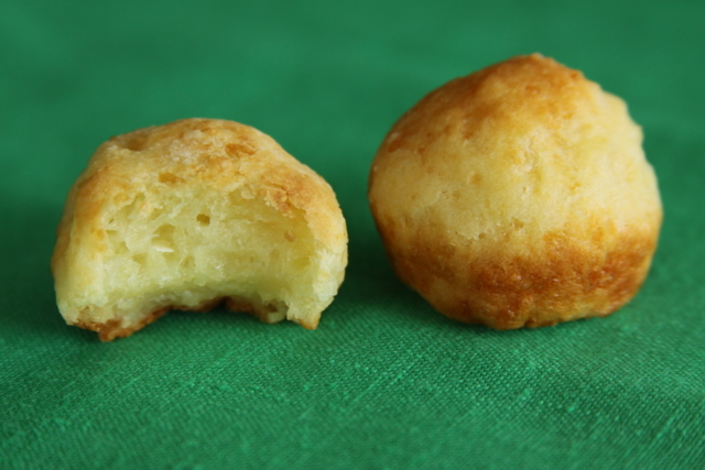 Once You Pop Brazilian Cheese Bread, You Can't Stop