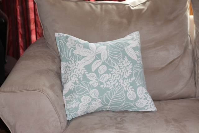 Sew Simple Foldover Pillow Cover