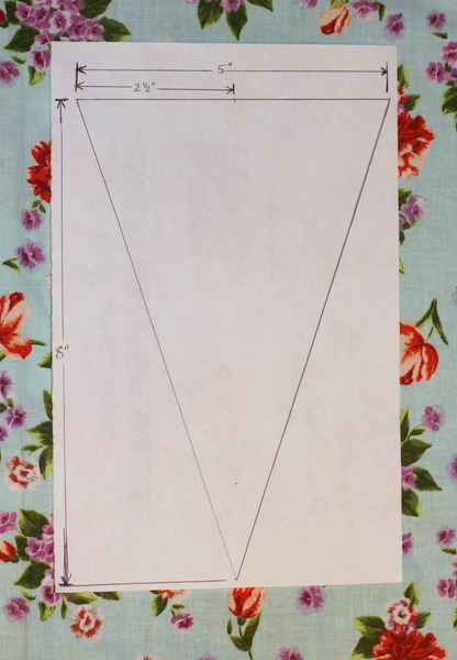 Bunting Banner Tutorial + GIVEAWAY for my 100th Post!