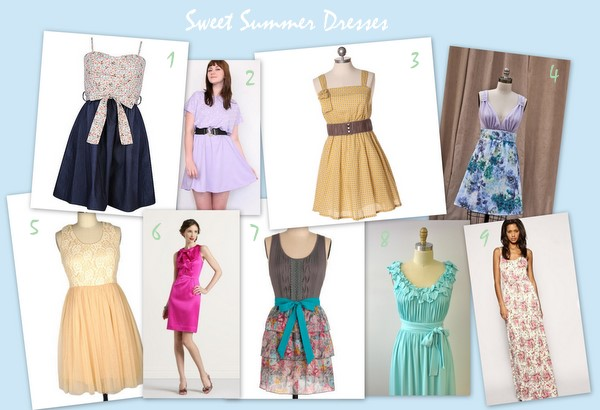 Flavors to Follow: Summer Dresses