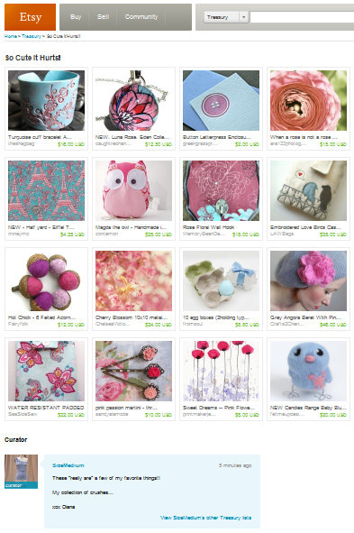 etsy treasury so cute it hurts!
