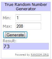 winner 73