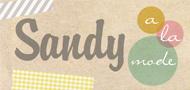 Sandy a la Mode