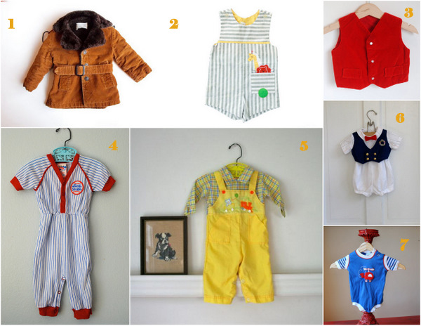 Flavors To Follow – Vintage Baby Boy Clothes