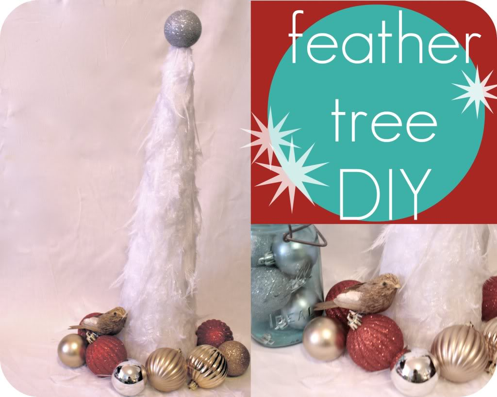 Feather Tree DIY by Cotton Lane