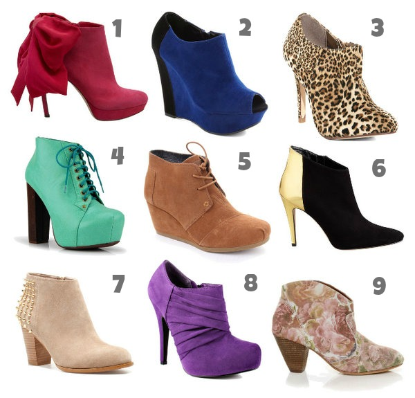 Flavors To Follow – Ankle Booties