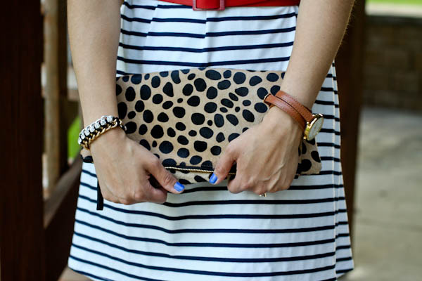 striped_dress-leopard_clutch