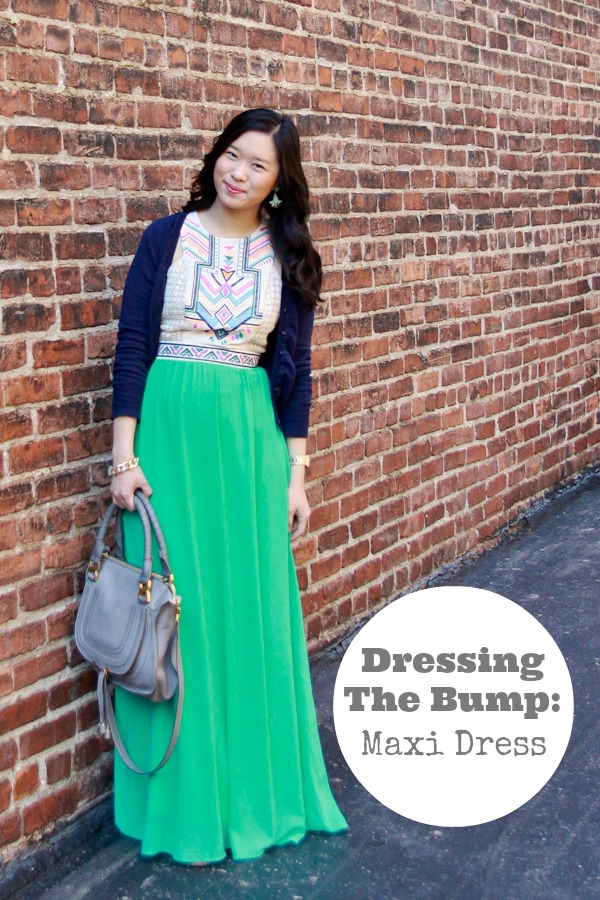 Dressing The Bump Maxi Dress - Sandy a la Mode