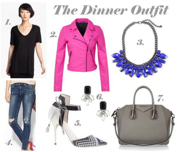 o+p dinner outfit