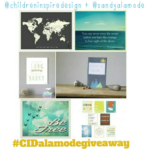 Feature Sponsor Love + Giveaway – Children Inspire Design