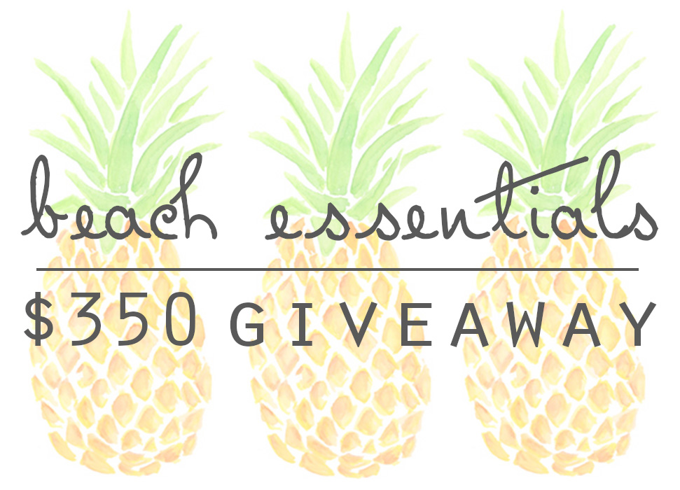 Beach Essentials $350 Giveaway