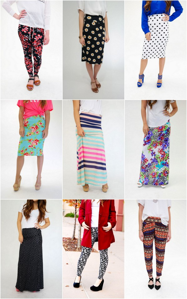 Agnes & Dora Legging, Pant or Skirt Giveaway!