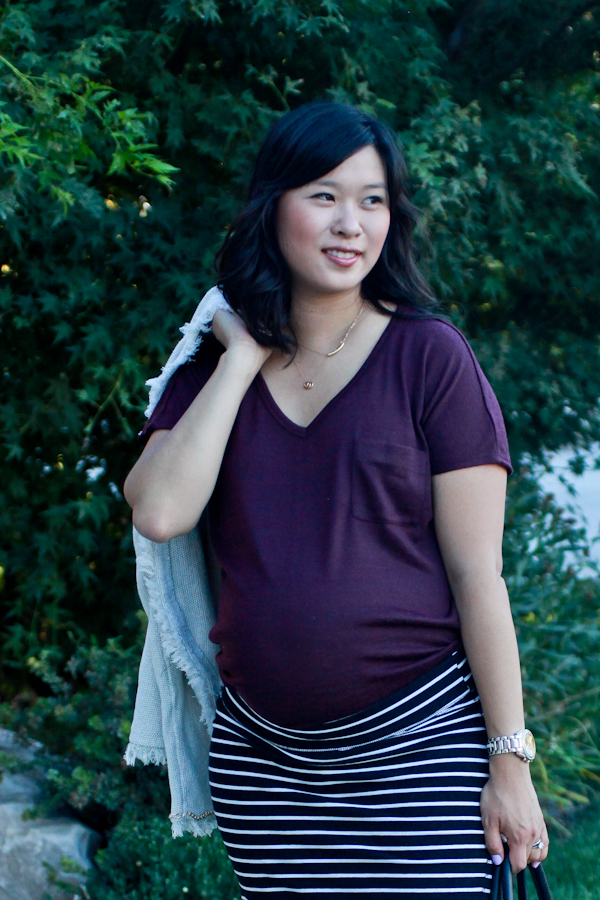 A Classic Work (Maternity) Outfit
