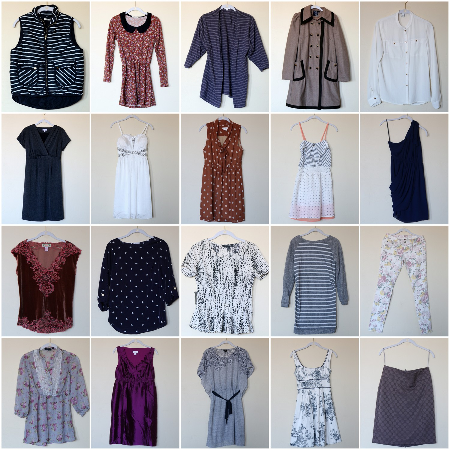 Pretty Patterns and Shop My Closet!