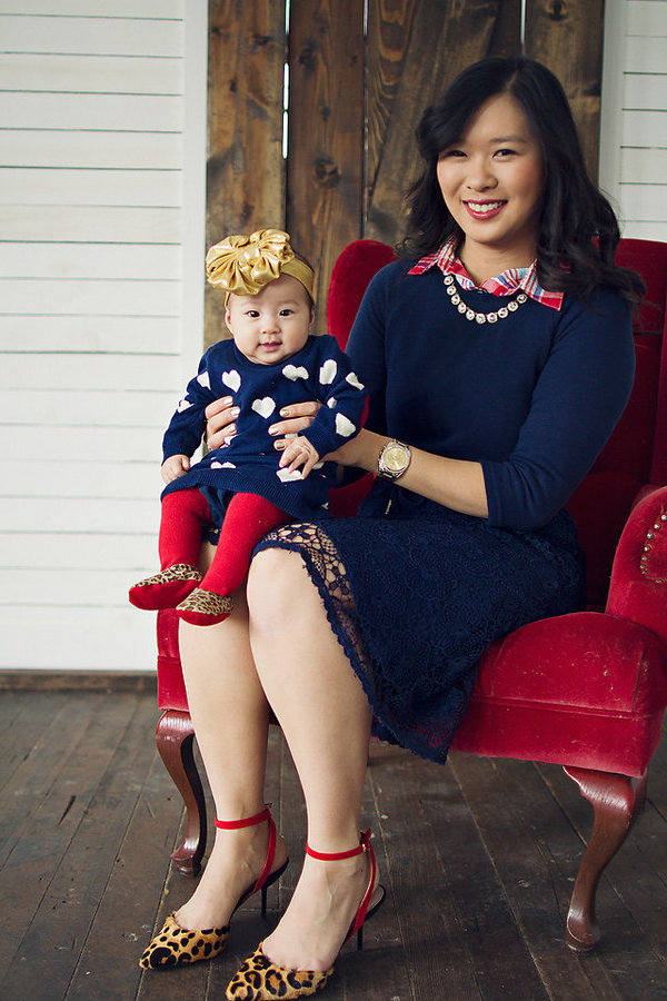 Mommy and Me Valentines Day Outfit  d44591e64990