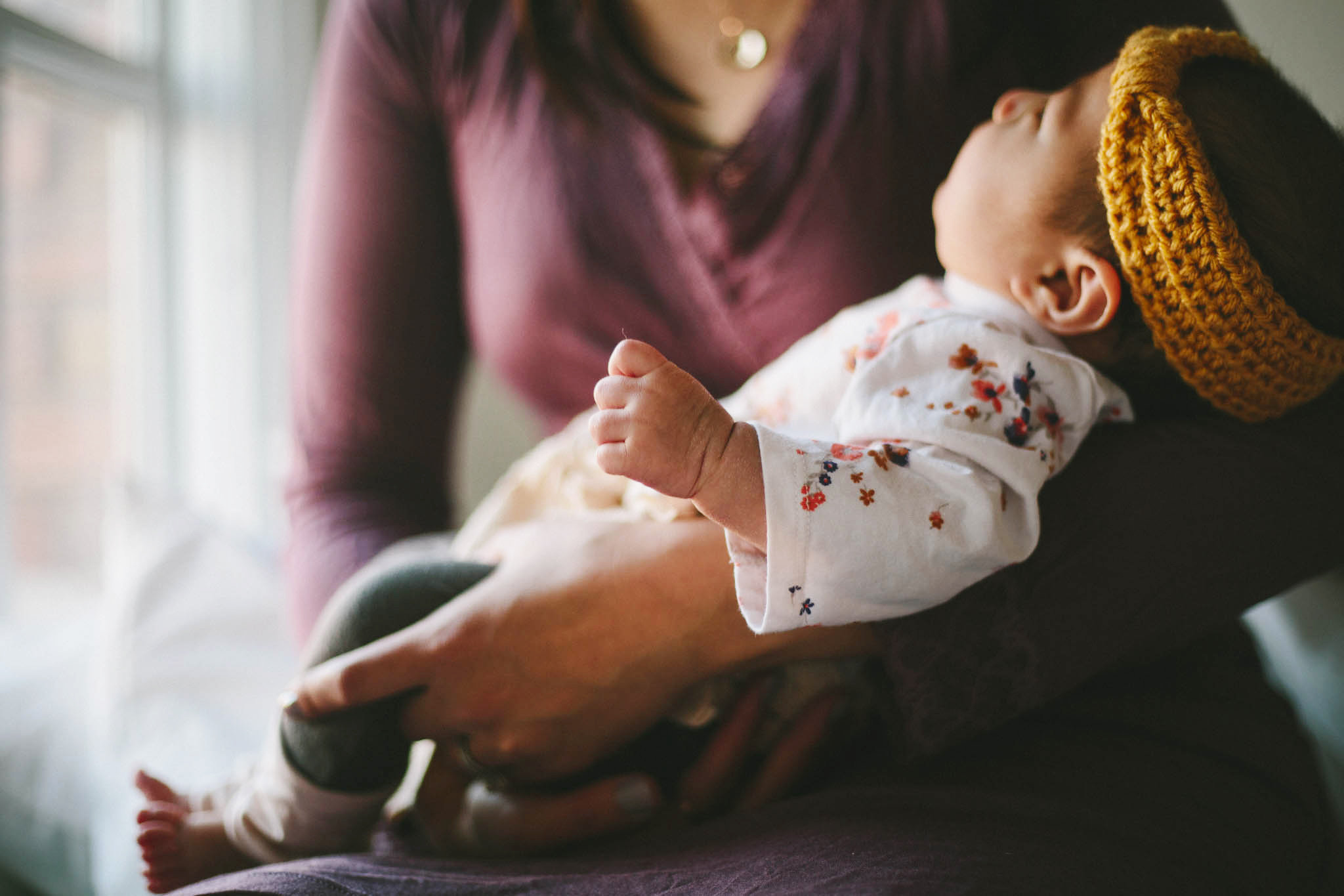 A mother's nursing journey