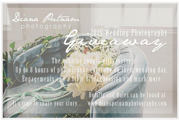 diana putman wedding photography giveaway