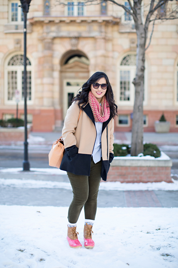 dHow to style Sperry duck boots