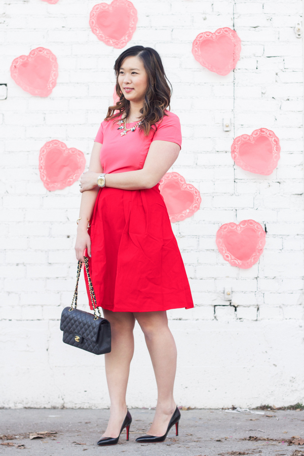 Valentines day outfit with Kingdom and State dress