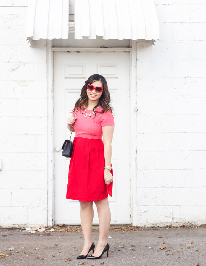 What to wear for Valentine's Day: Valentine's day outfit
