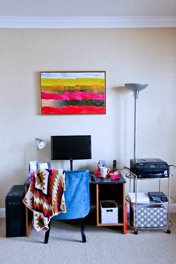 A Revamped Desk Space With Ross Dress For Less Sandyalamode