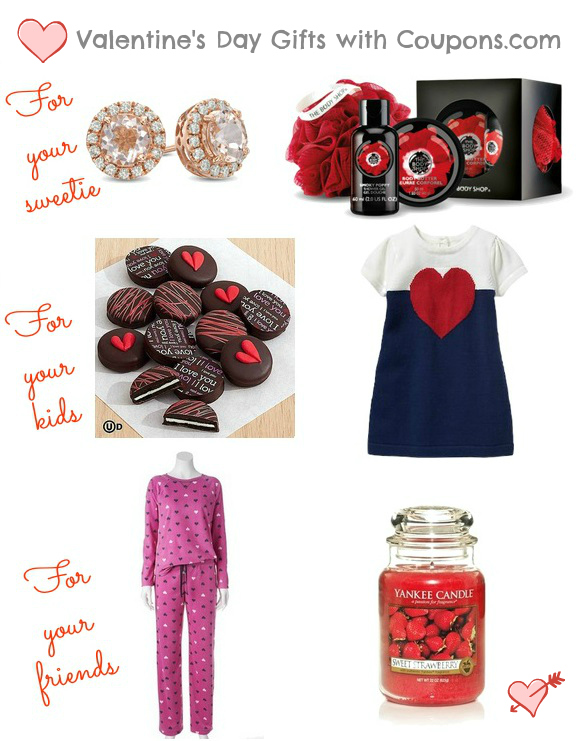 Valentines day gift guide with Coupons
