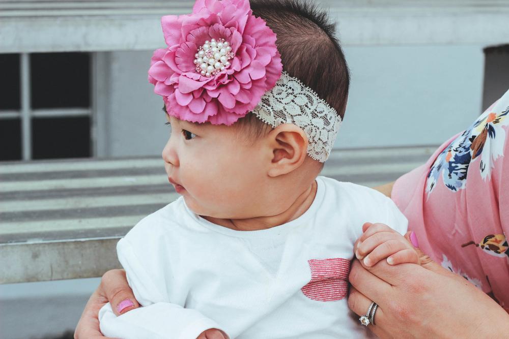 Sandy a la Mode / Mommy and baby girl headband