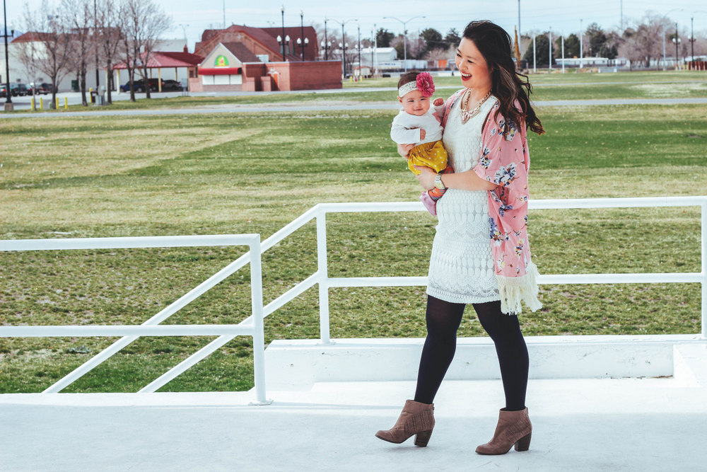 Sandy a la Mode / Mommy and baby girl fashion