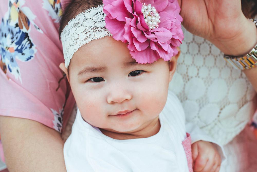 Sandy a la Mode / baby girl big bow headband