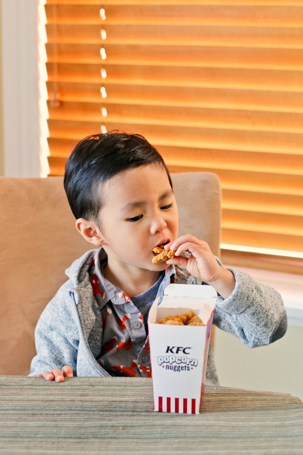 KFC Popcorn Nuggets kids love them