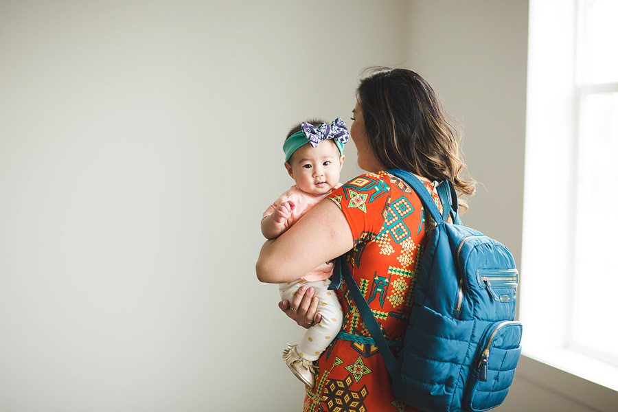 Sandy a la Mode / Fashion blogger / Mama and baby