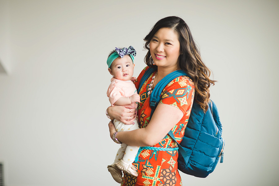 Sandy a la Mode / Fashion blogger / Mama and baby bag