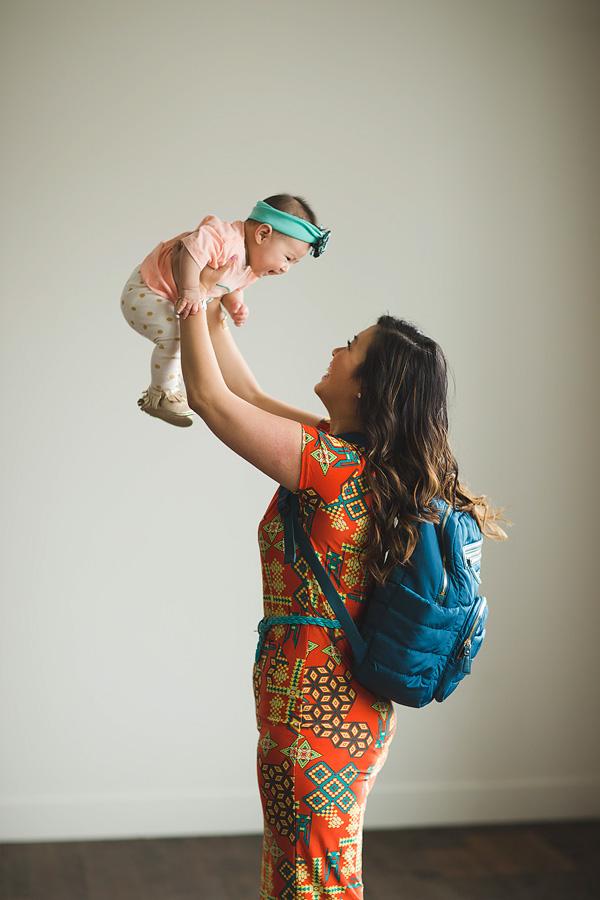 Sandy a la Mode / Fashion blogger / Diaper bag