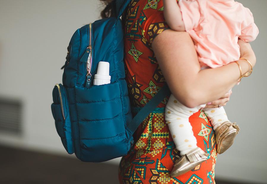 Sandy a la Mode / Fashion blogger / Twelve Little Backpack Diaper Bag