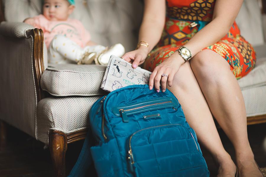 Sandy a la Mode / Fashion blogger / Twelve Little Diaper Bag
