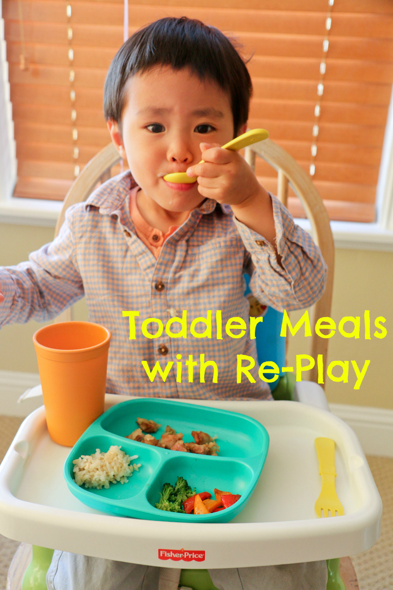 Toddler Meals with Re-Play + Giveaway!