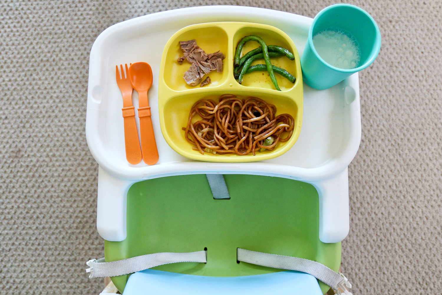 Sandy a la Mode | Toddler Meals with Replay Lorax Set