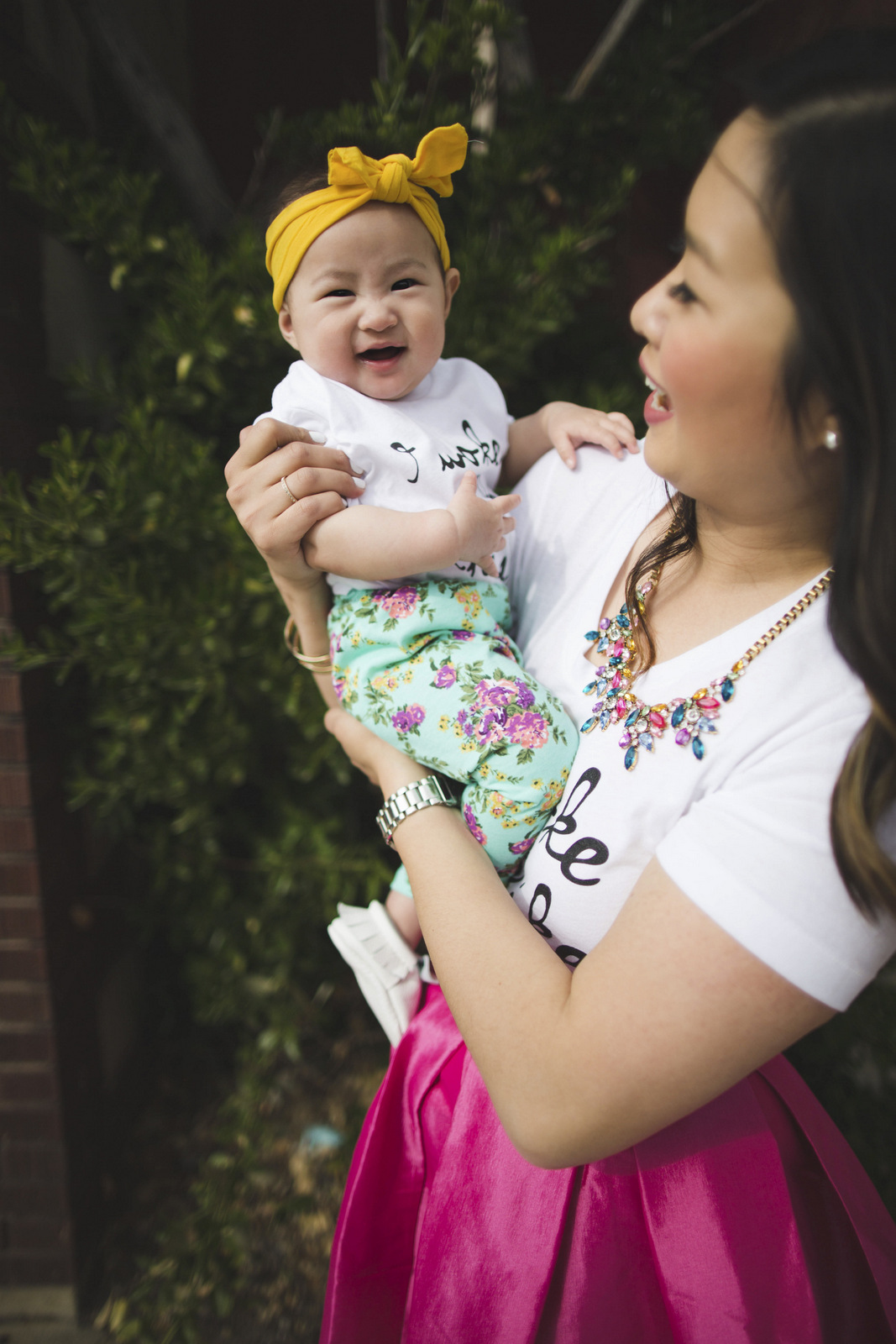 Sandy a la Mode | Mommy + Me Fashion featuring Nicky + Stella baby kid clothes