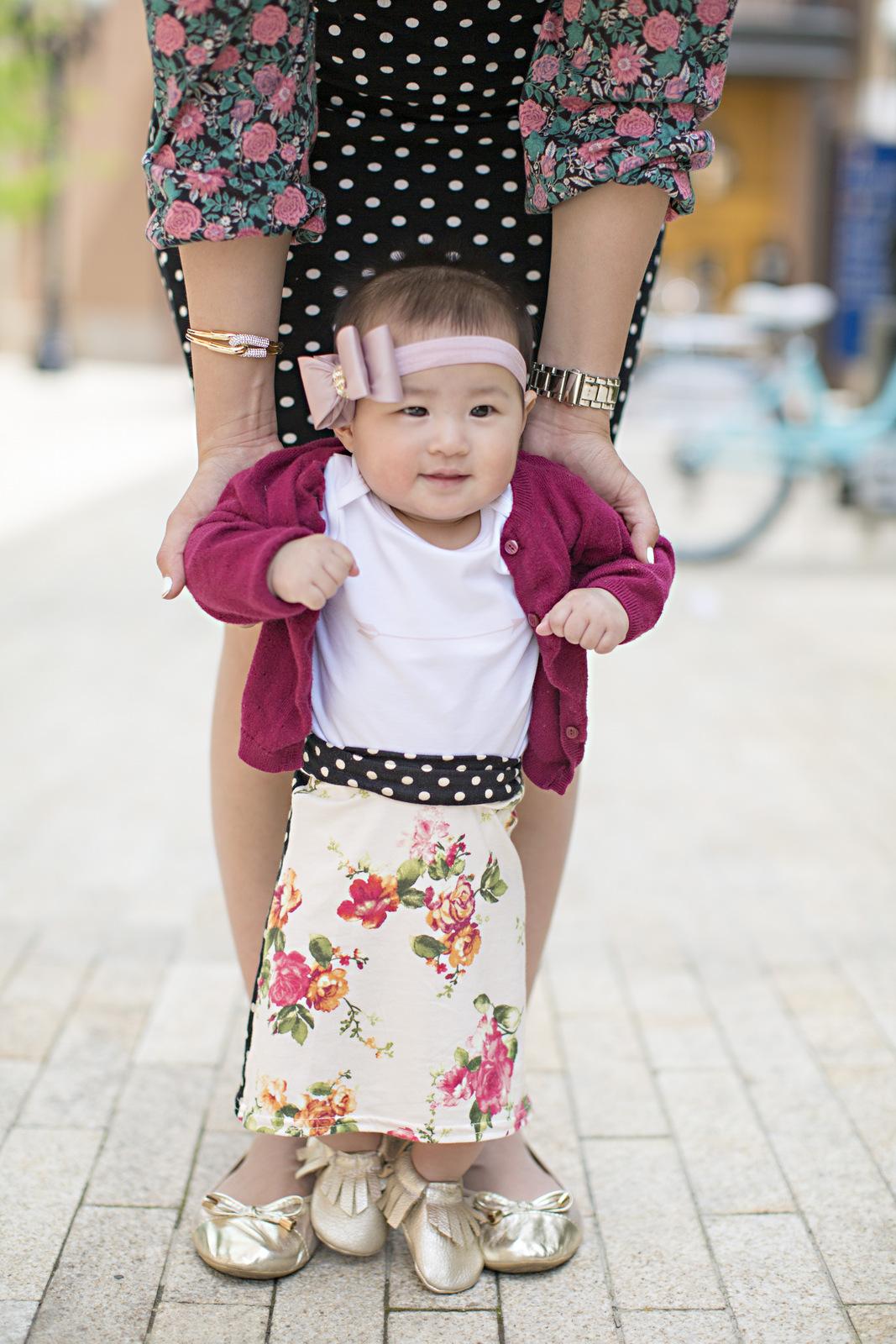Sandy a la Mode | Mommy + Me Polka Dot and Floral