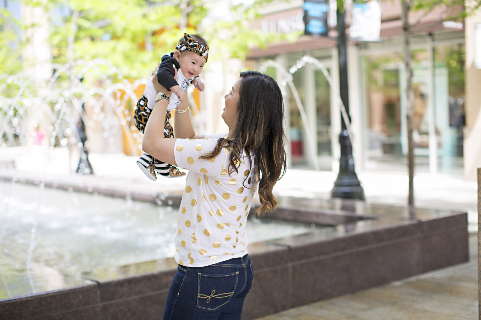 Sandy a la Mode | Mommy + Me Leopard and Gold