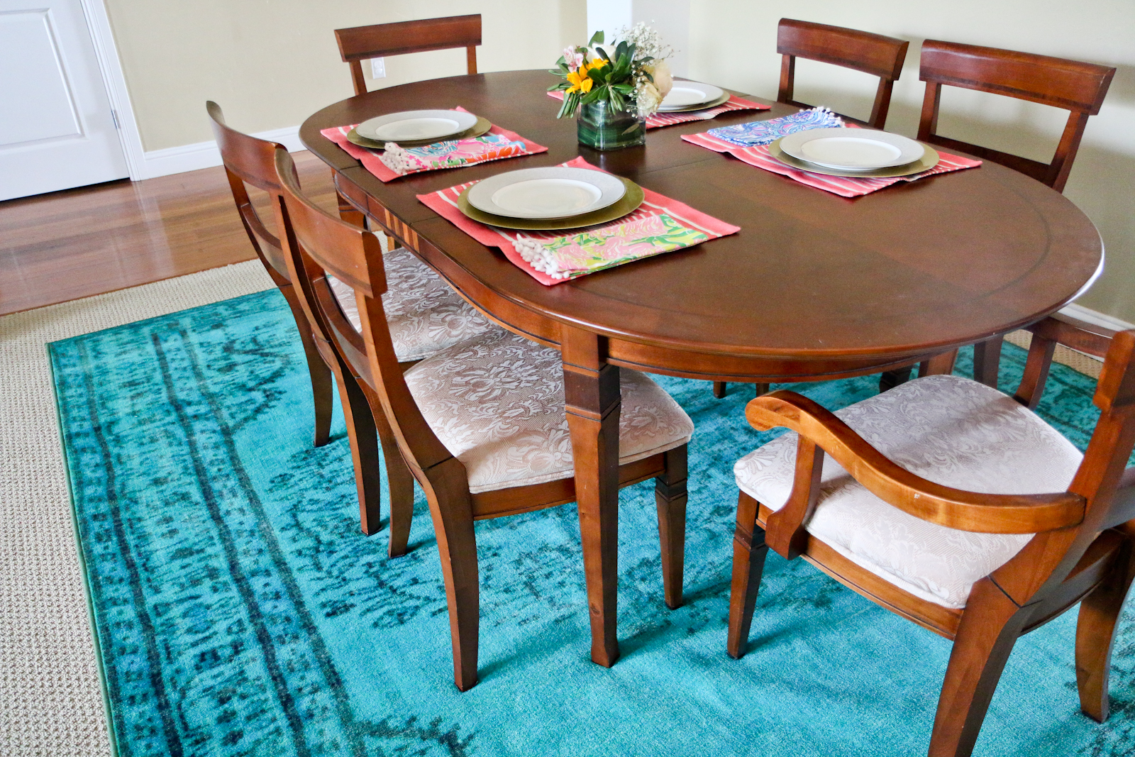 Dining Room Spruce Up With Rugs Usa Sandyalamode