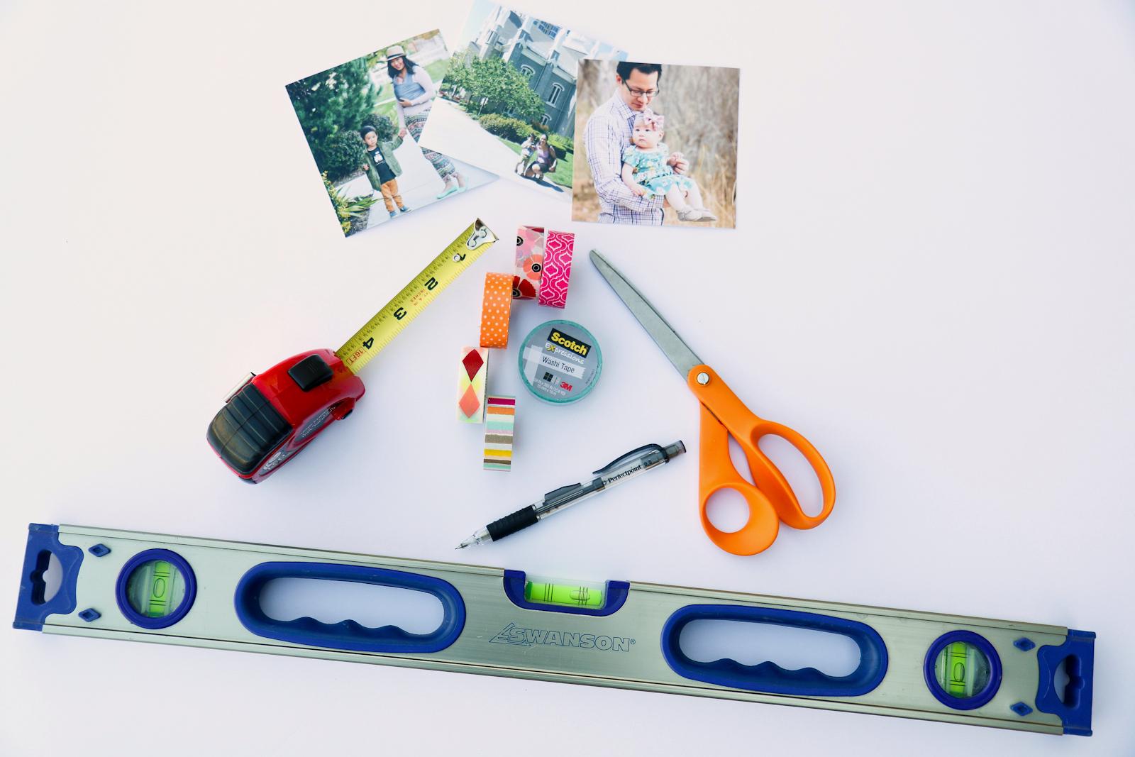 Sandy a la Mode   DIY Instagram Wall with Washi Tape