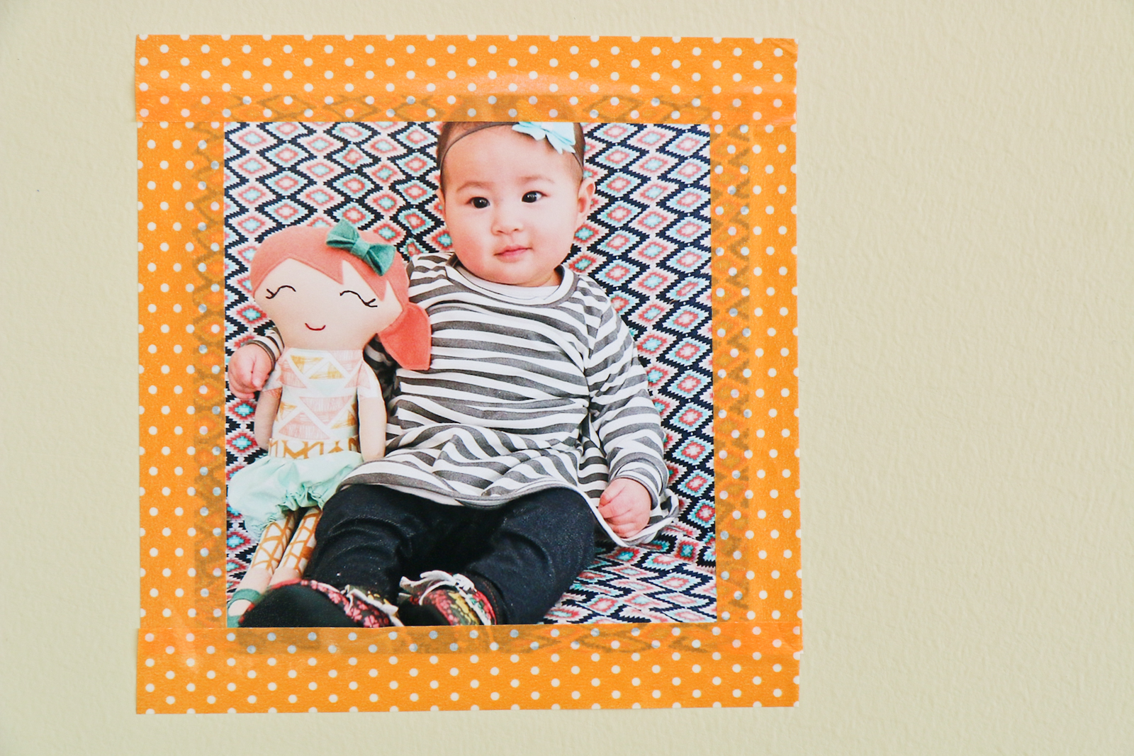Sandy a la Mode | DIY Instagram Wall with Washi Tape
