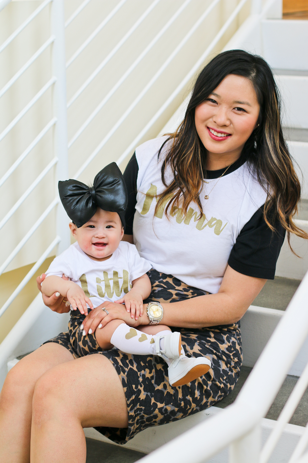 Sandy a la Mode | Mama Daughter Style Series Matching Style with Rack Room Shoes, Color Me Apparel and River and Grace Co