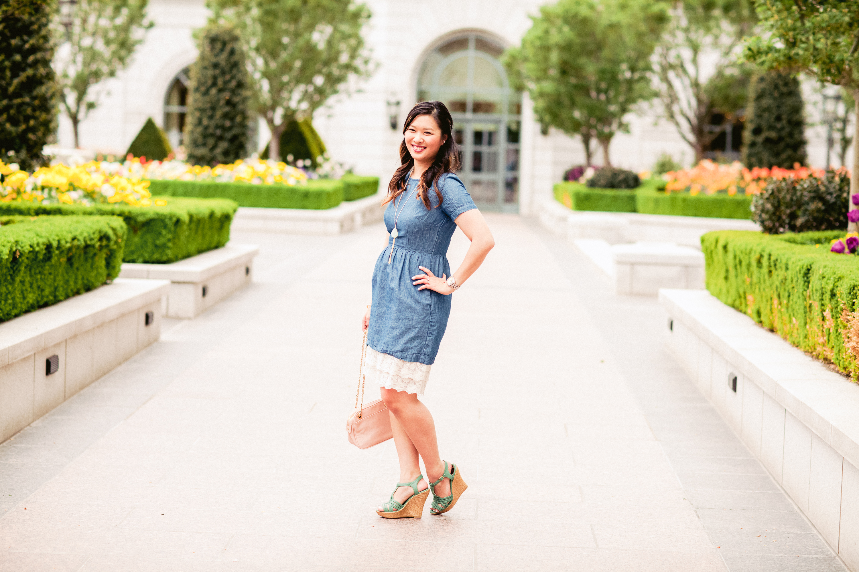 Sandy a la Mode   Fashion Blogger - Two Ways To Style A Slip Extender with My Sister's Closet Boutique