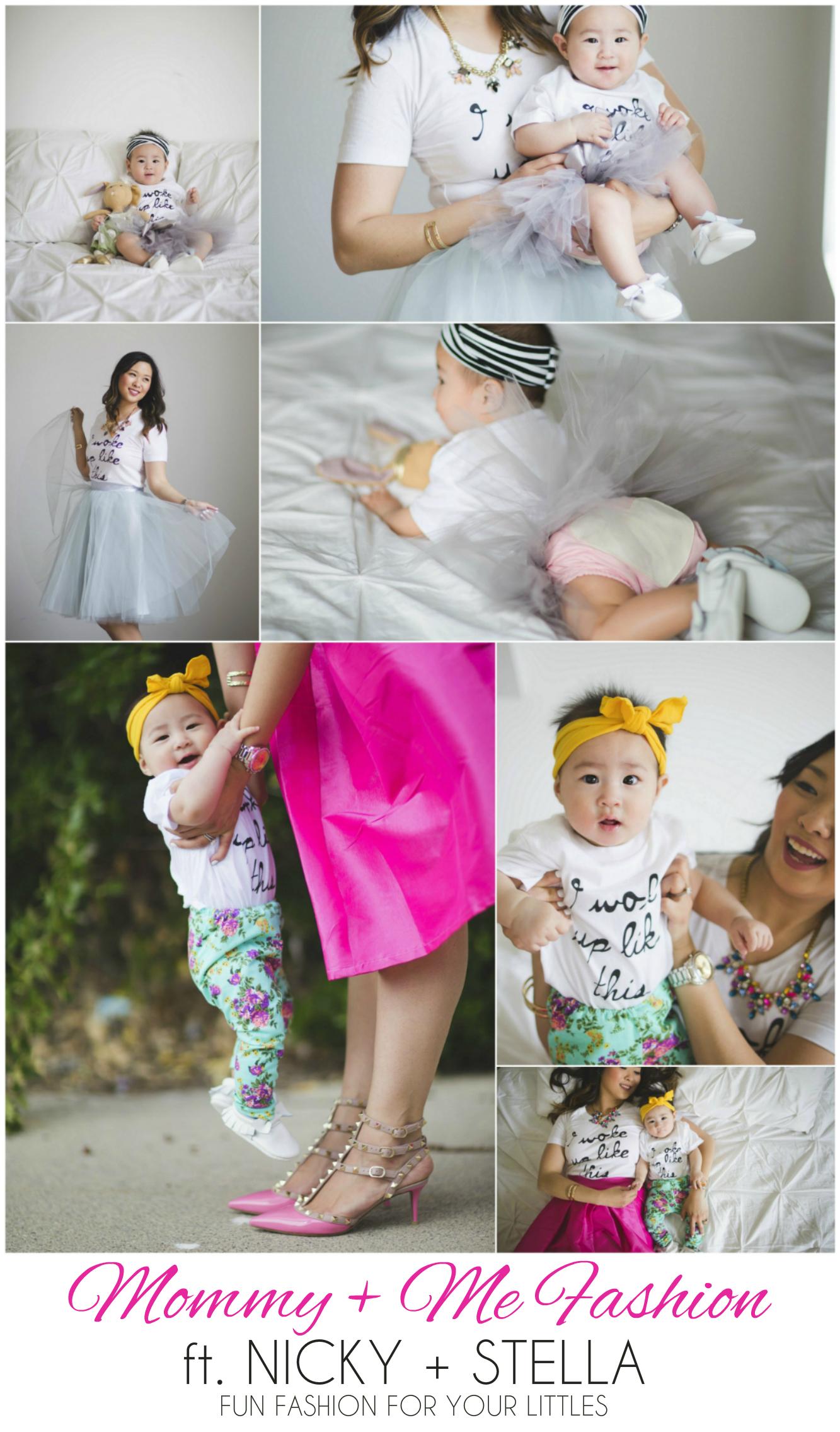 Sandy a la Mode featuring Mommy + Me Fashion by Nicky + Stella