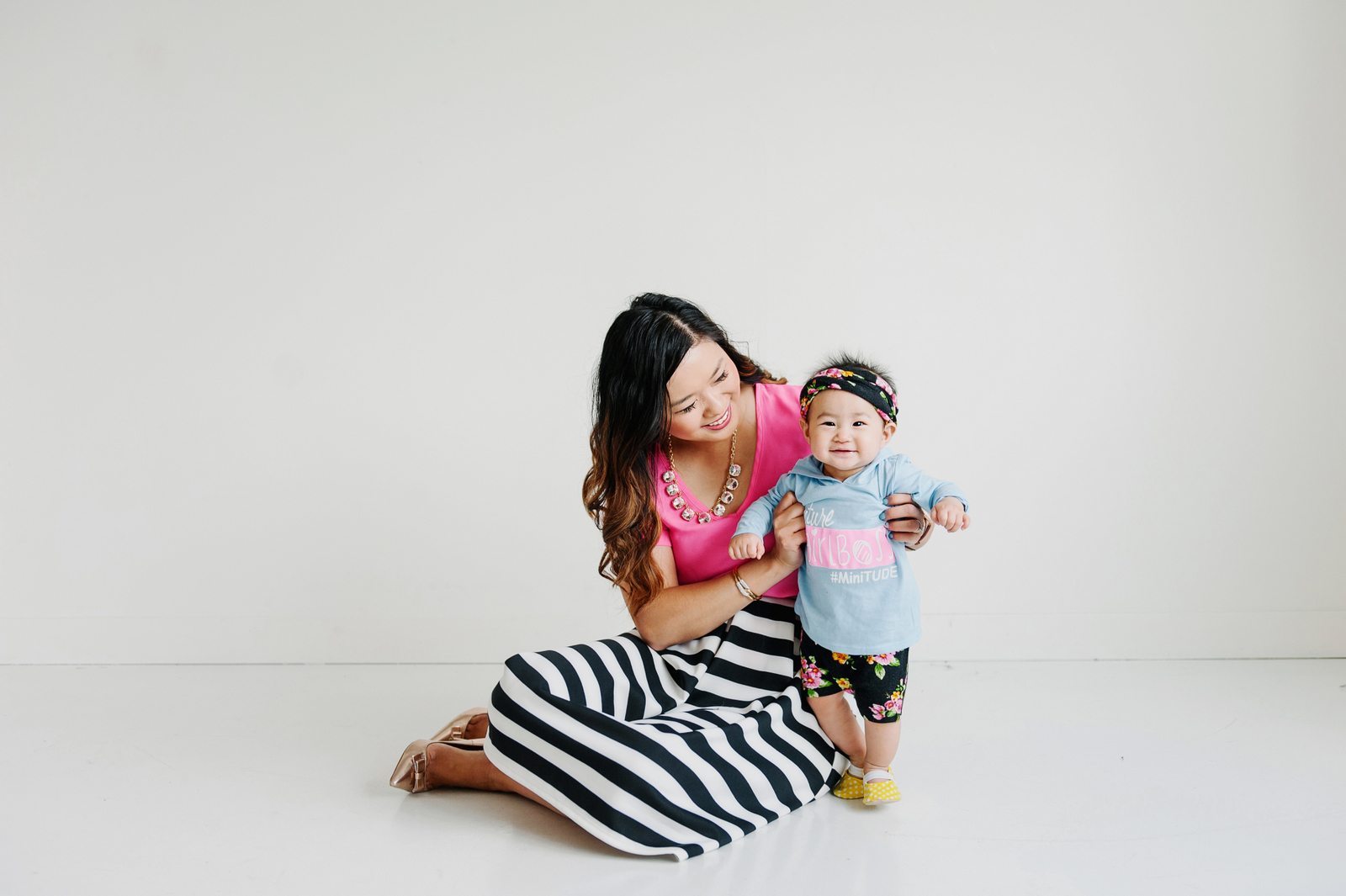 Mommy + Me Stripes and Florals