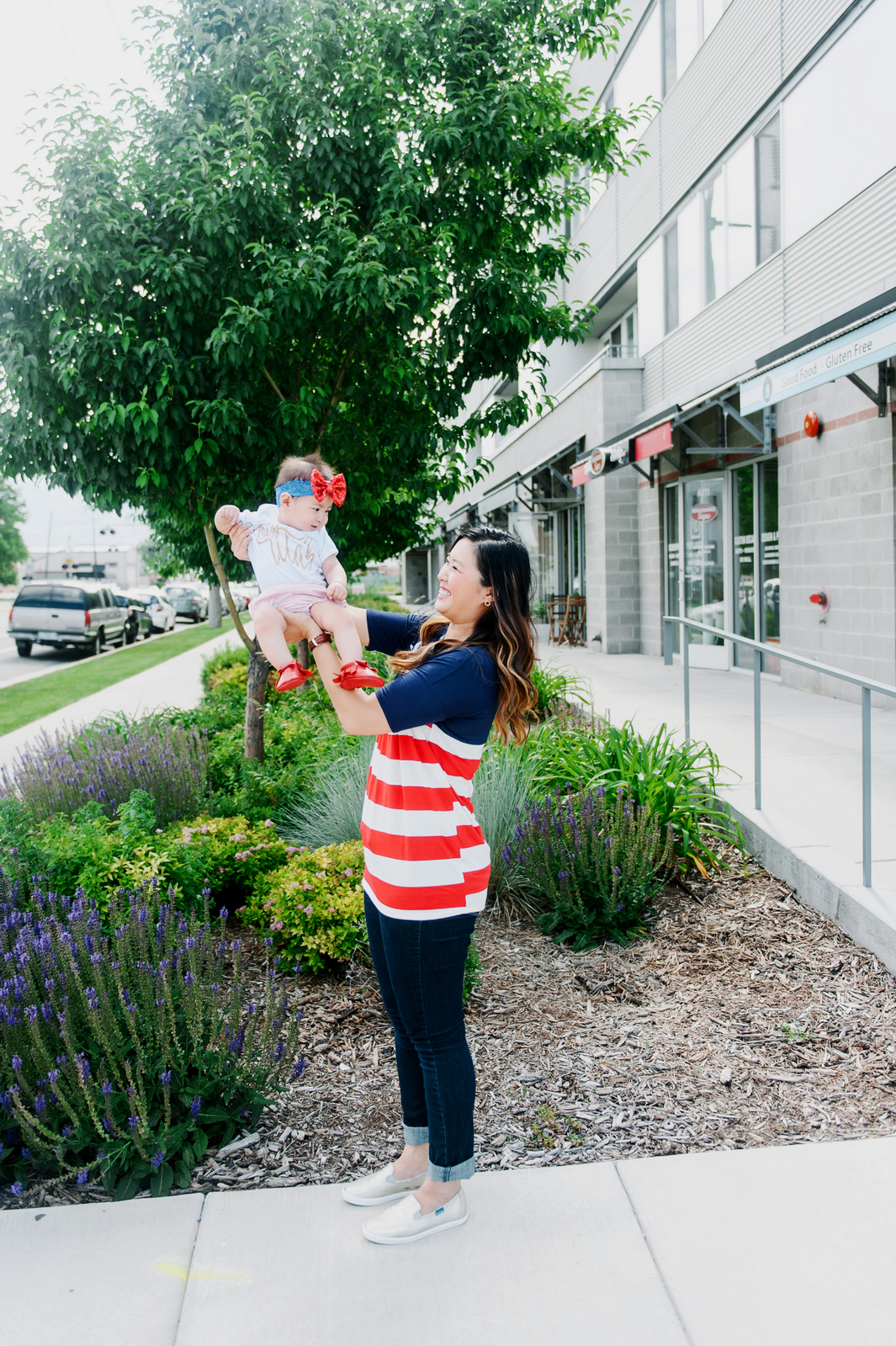 Sandy a la Mode   Fashion Blogger Mommy and Me Fourth of July Style
