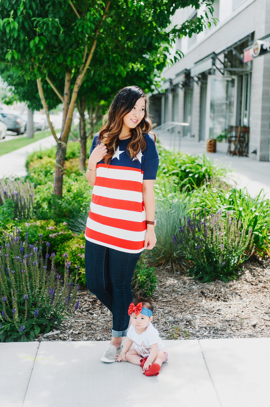 Mommy + Me Fourth of July Looks