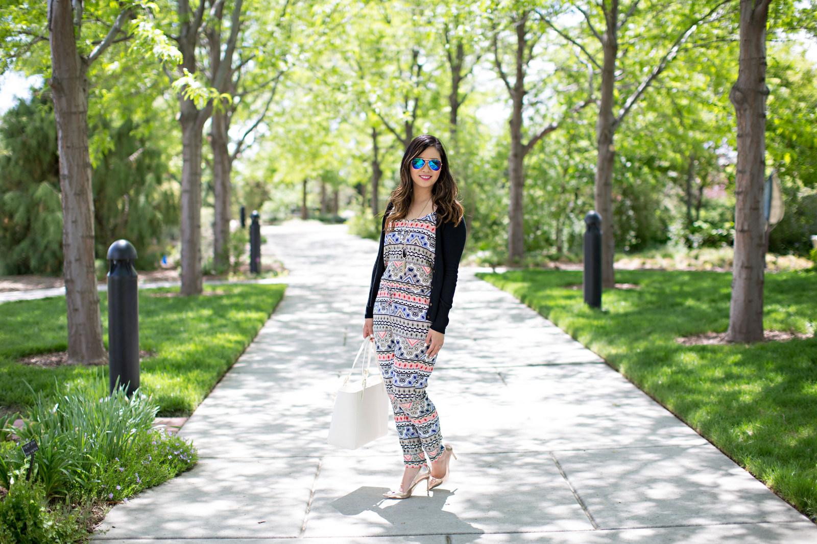 Sandy a la Mode | Fashion Blogger Wearing Jumpsuit
